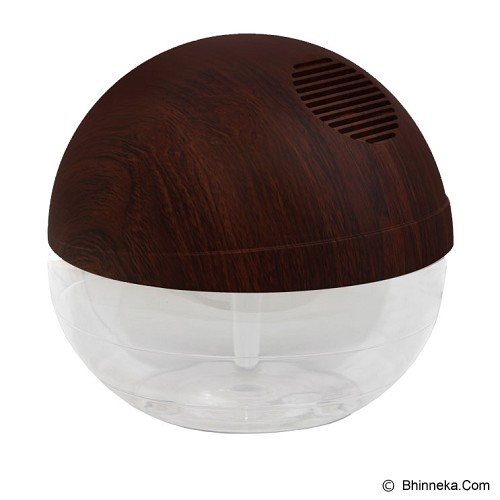 SICHER ECOSYSTEM Moon Air Purifier [BT-108WLN] - Teak Wood - Air Purifier